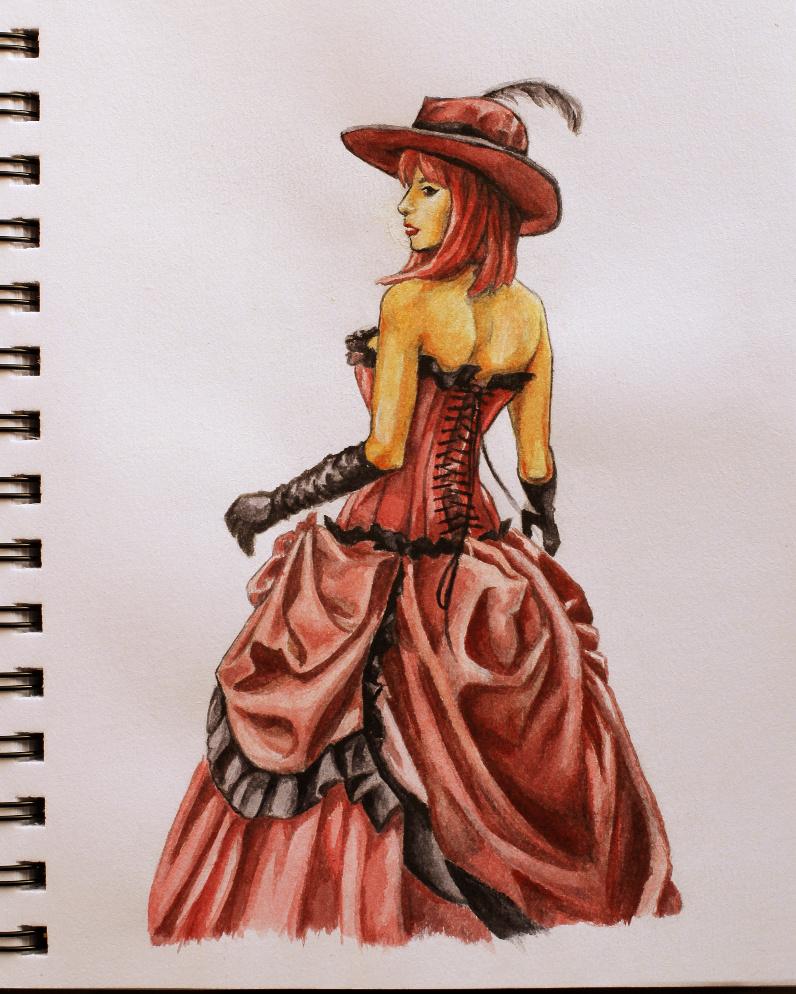 Madame Red cosplayed by Bluegarnetmakeup by KoooKus