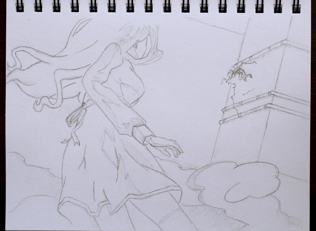 Drawing practice: Mugino, scene 2 by KoooKus