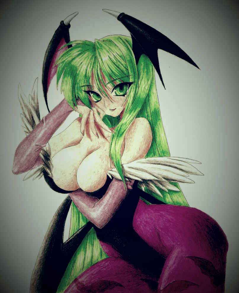 Vintage Morrigan by ArchaicGraffiti