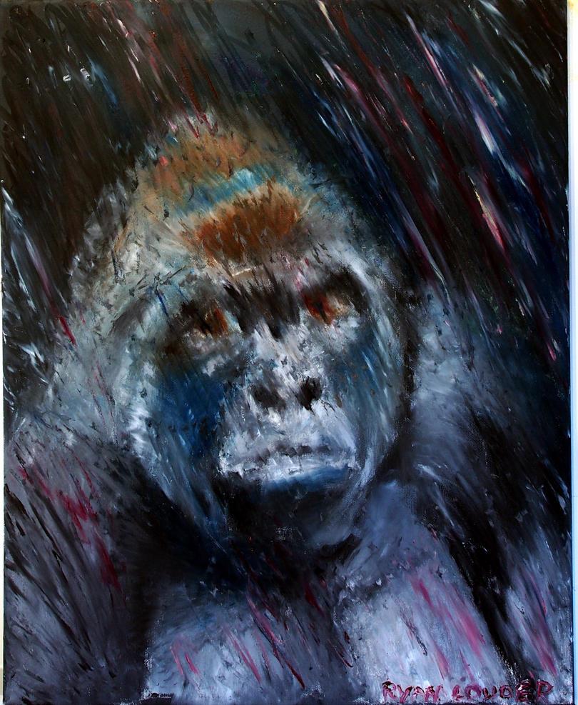 Gorilla  by RyanLouder