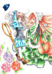 Twins-coloured-Rozen Maiden