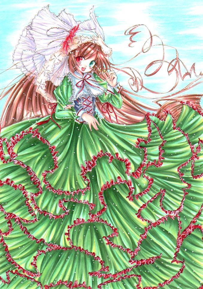 Suiseiseki-Rozen Maiden by ayasemn