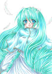 Miku Hatsune5-Vocaloid2 Miku by ayasemn