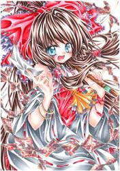 Reimu Hakurei-Touhou by ayasemn