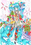+Miku Hatsune 1st Anniversary+ by ayasemn