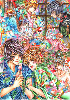 Touma+Natsuki-OCs
