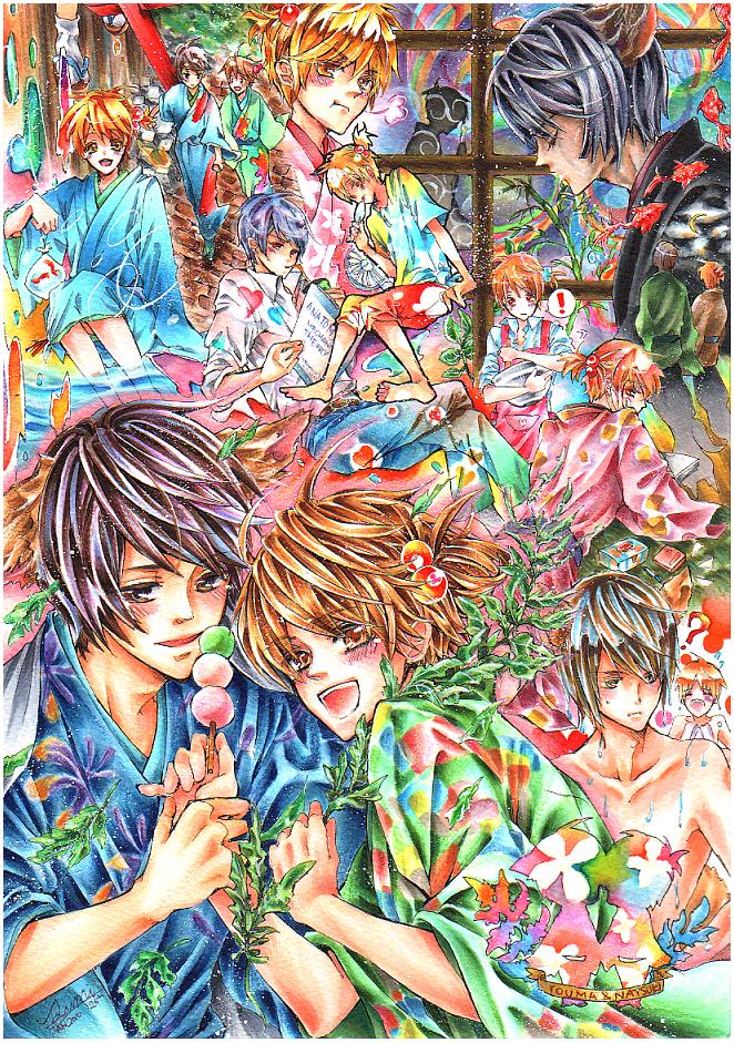 Touma+Natsuki-OCs by ayasemn