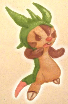 Chespin Doodle Dot