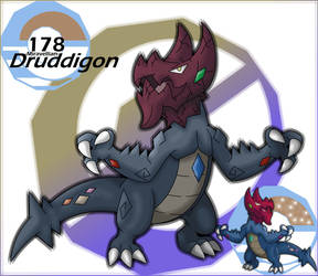 178 Miravellian Druddigon by PamtreWN