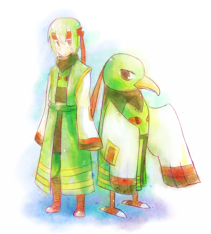 Xatu Gijinka by Amorphous-blob on DeviantArt