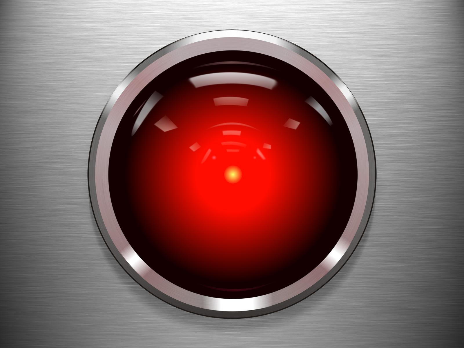 HAL 9000 eye