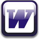 MS Word dock icon by JyriK