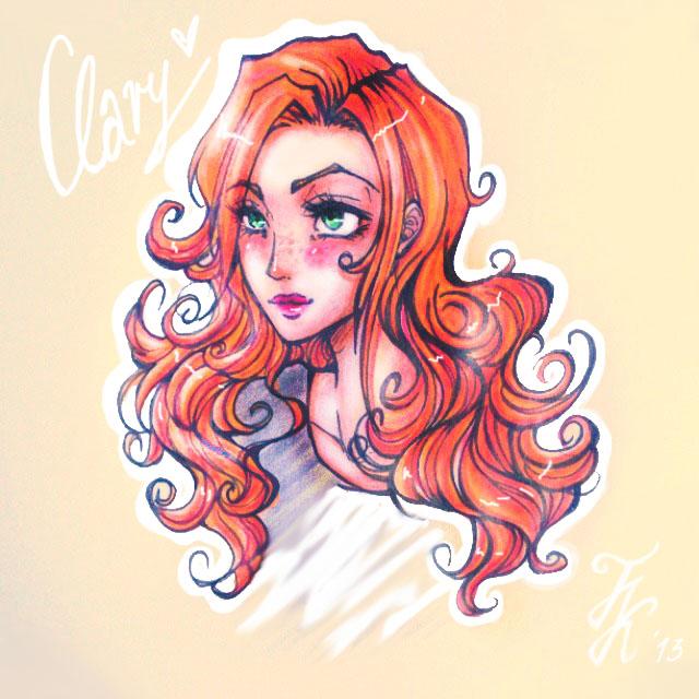 Clary Fray by FeineKleine on DeviantArt