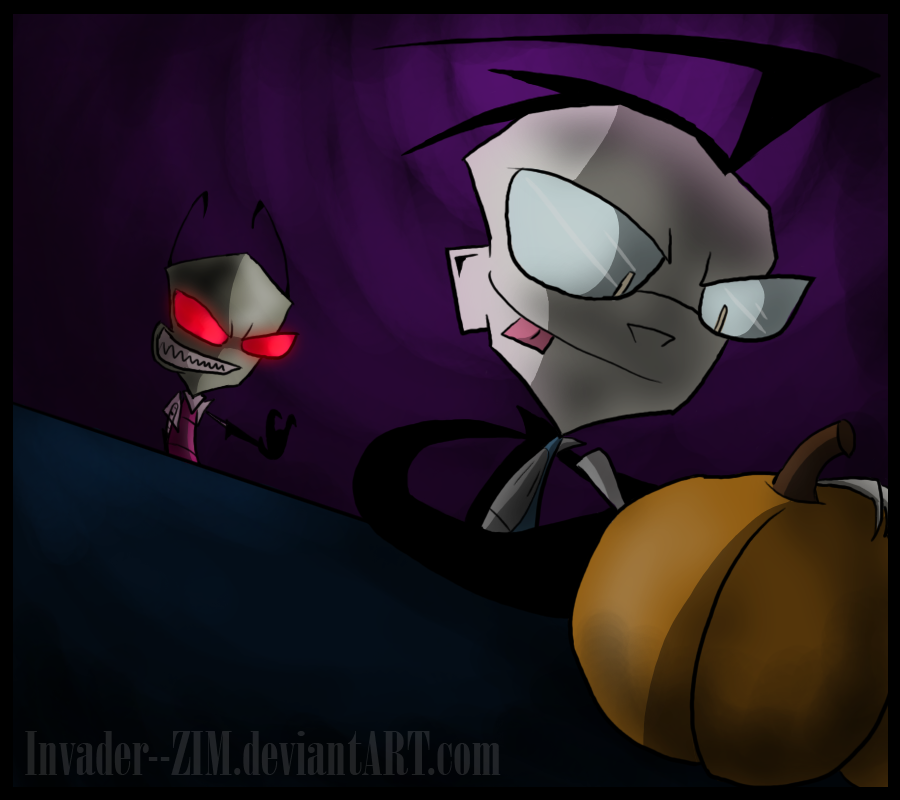 Pumpkin Carving - For ZPD by Invader--ZIM