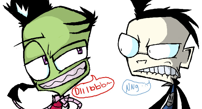 Diiiiiib by Invader--ZIM