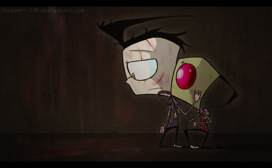 After The Fight by Invader--ZIM