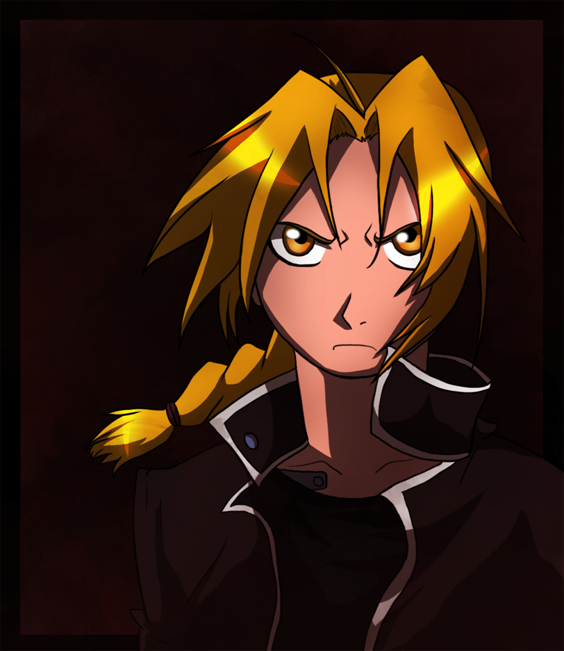Edward Elric by Invader--ZIM