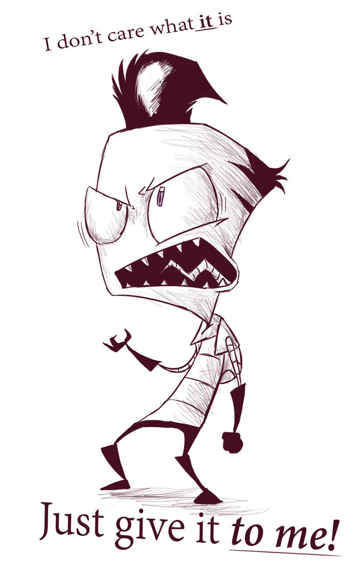 Gimme By Invader ZIM