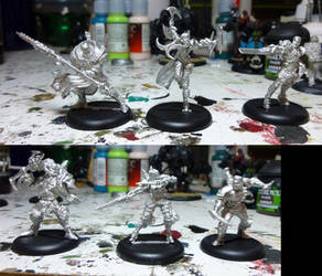 Kickstarter Jouneymen Warcasters