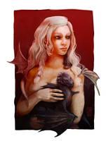 Daenerys by EricaMilhomem