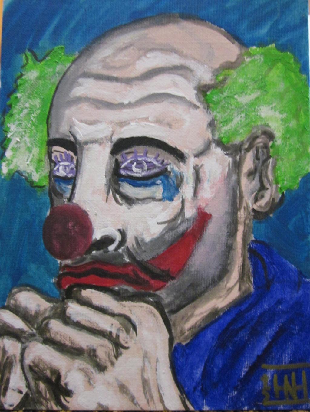 foto de Sad Clown by Mandinga91 on DeviantArt