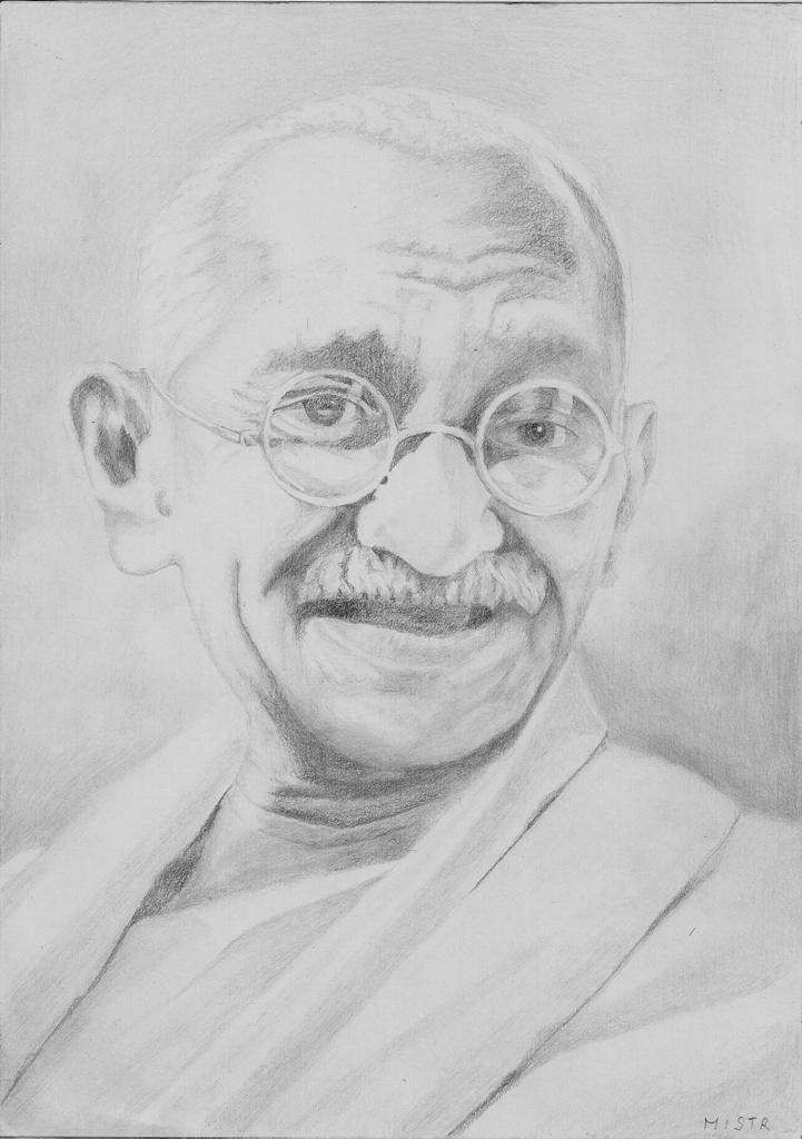 Mahatma Gandhi by MiStr8022
