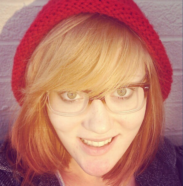 Red Knitted Hipster Beanie by shelbyjellybean on DeviantArt