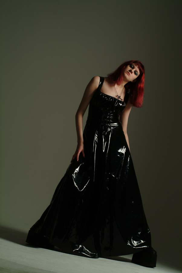 Enchanting Latex Evening Gown Image - Images for wedding gown ideas ...