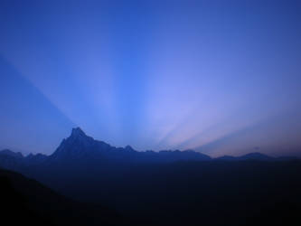 Machhapuchhre in the Morning