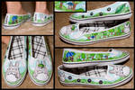 Totoro Shoes by Aeris-13