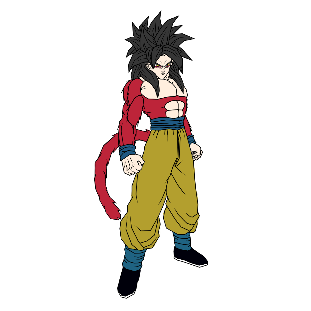 Pictures Of Goku Ssj4 And Vegeta Ssj4 Fusion Rock Cafe