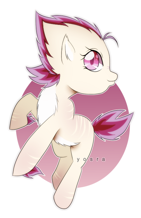 spiky pony for adopt (open) by yoya-adoptabels