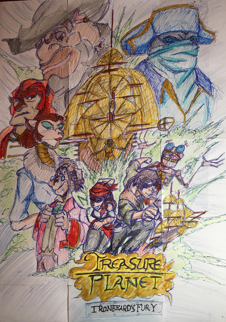 Treasure Planet 2: Ironbeards Fury by Cromwell300 on ...
