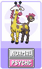 Girafarig evolution: kirinirik by Sindorman