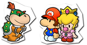 Paper Mario Babies by Sindorman