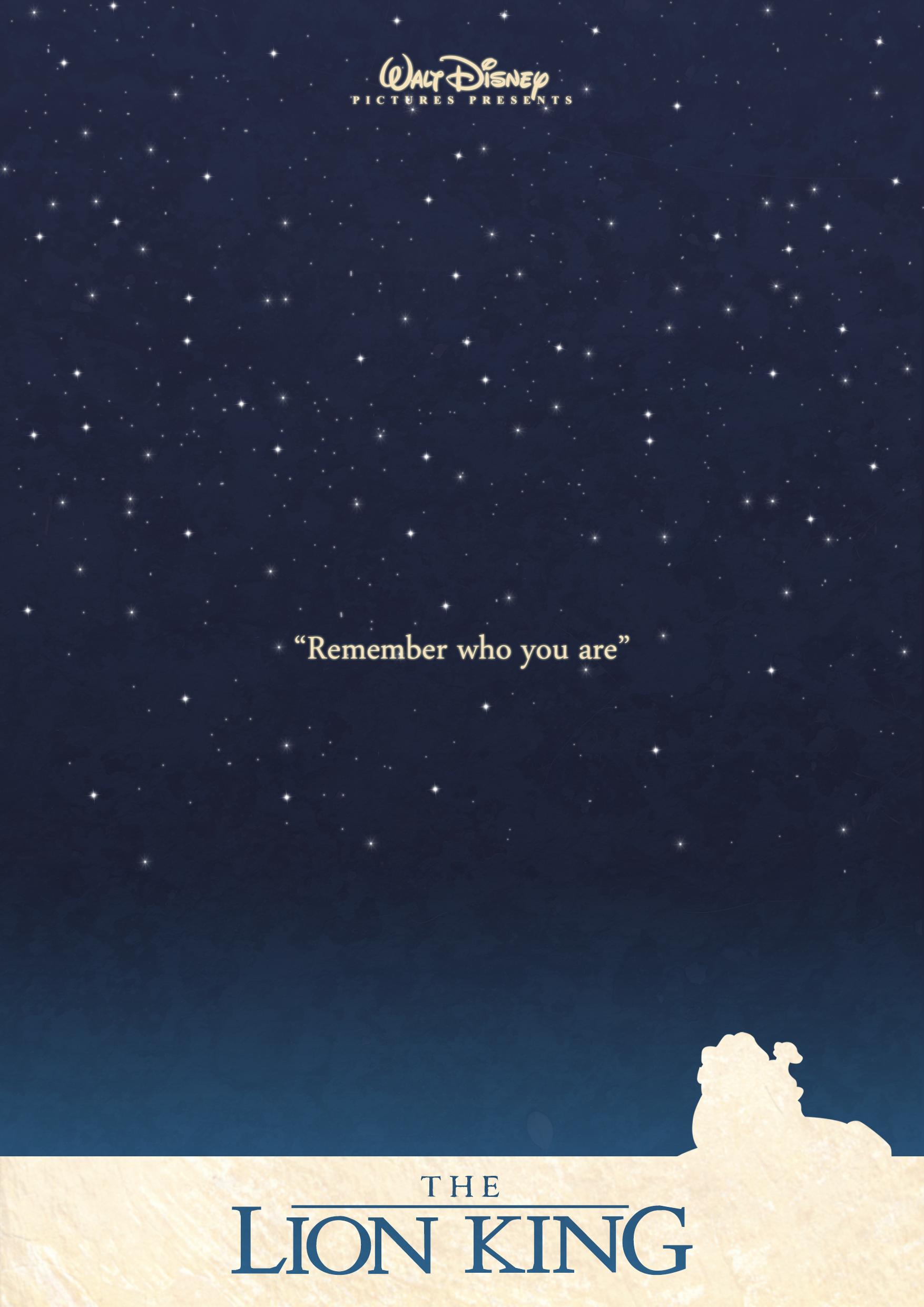Lion king minimal Poster by Sindorman