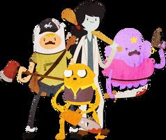 Adventure time meets Left 4 Dead