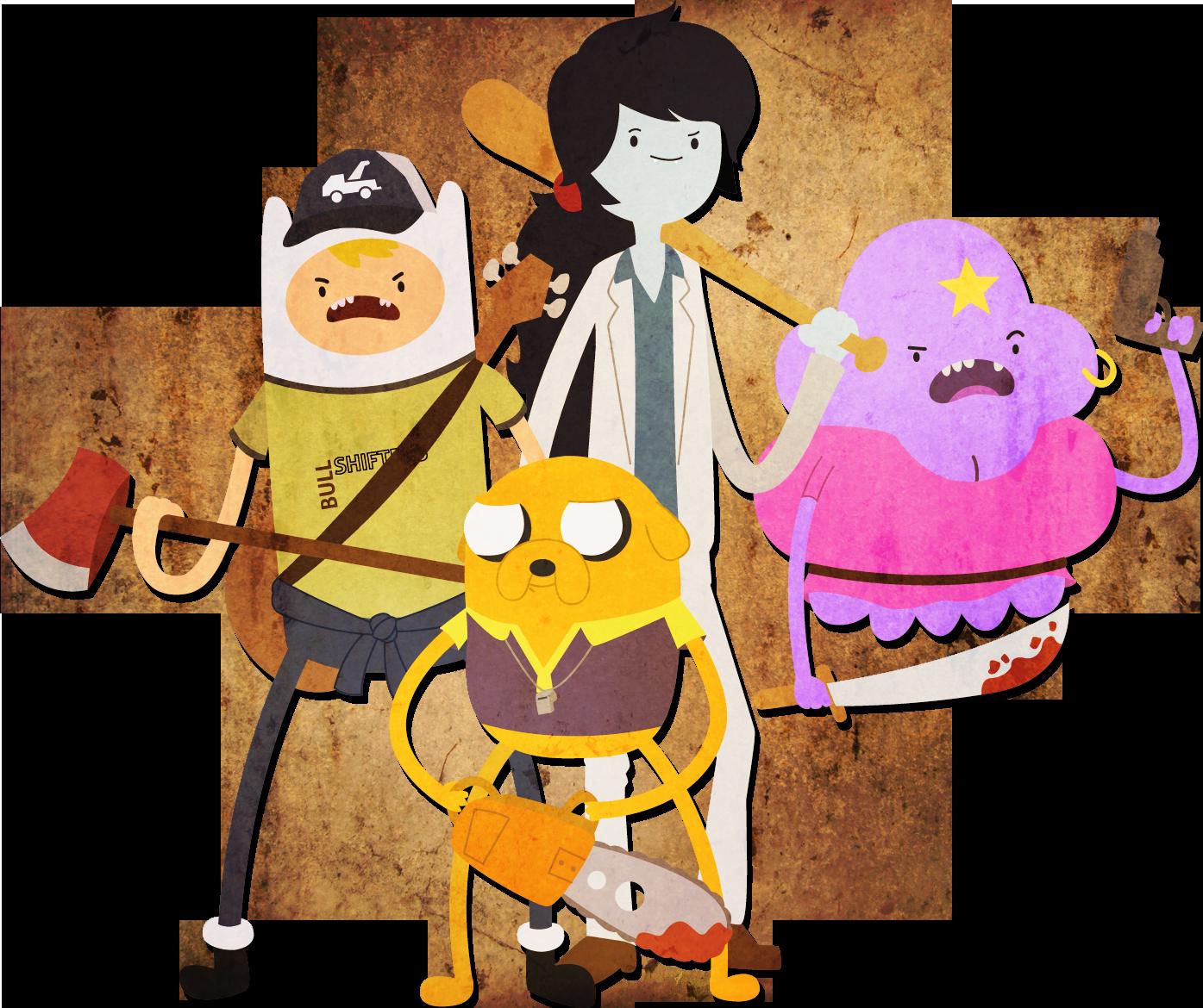 Adventure time meets Left 4 Dead by Sindorman