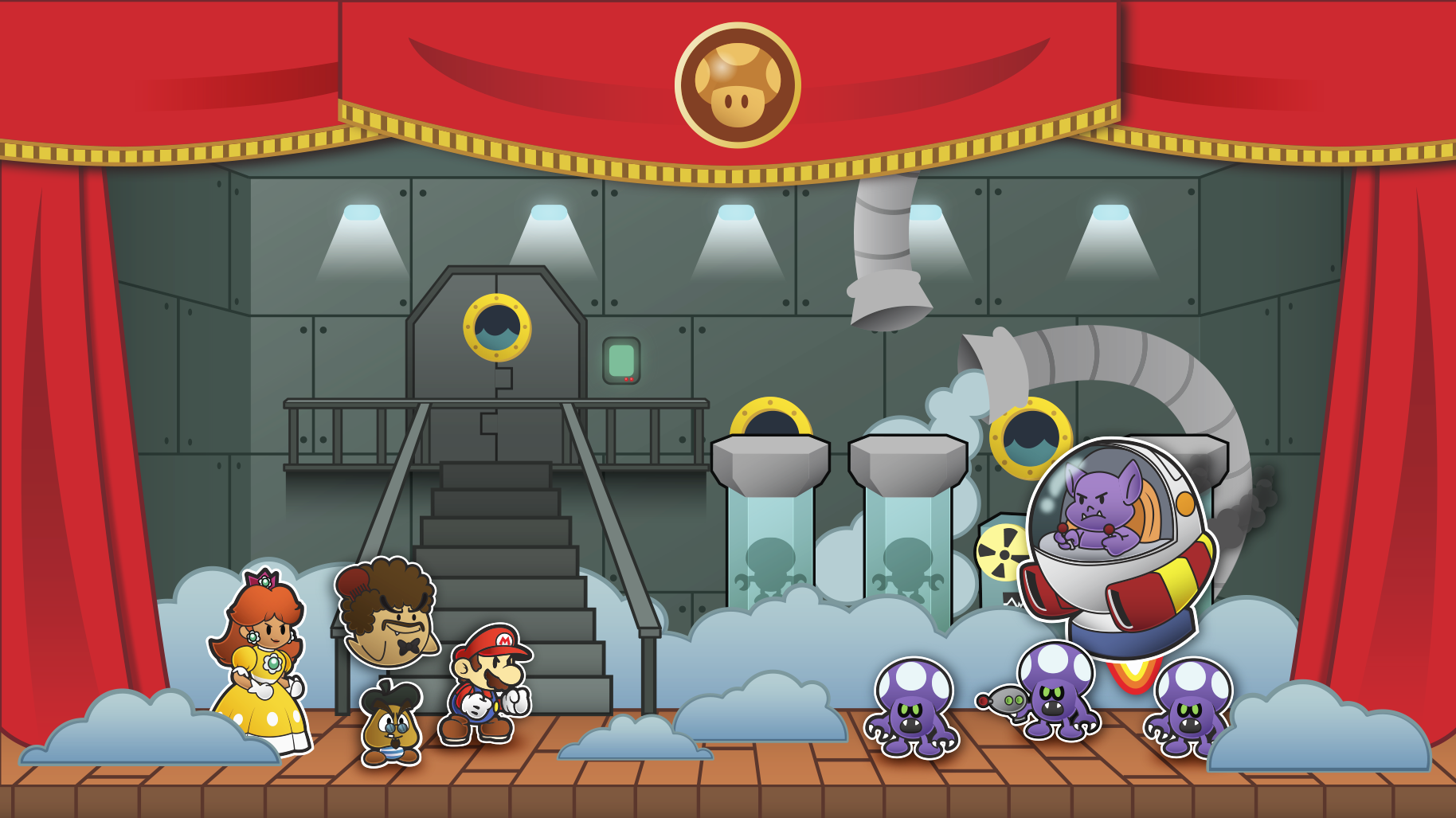 Paper Mario: The Solar Relics prologue by Sindorman