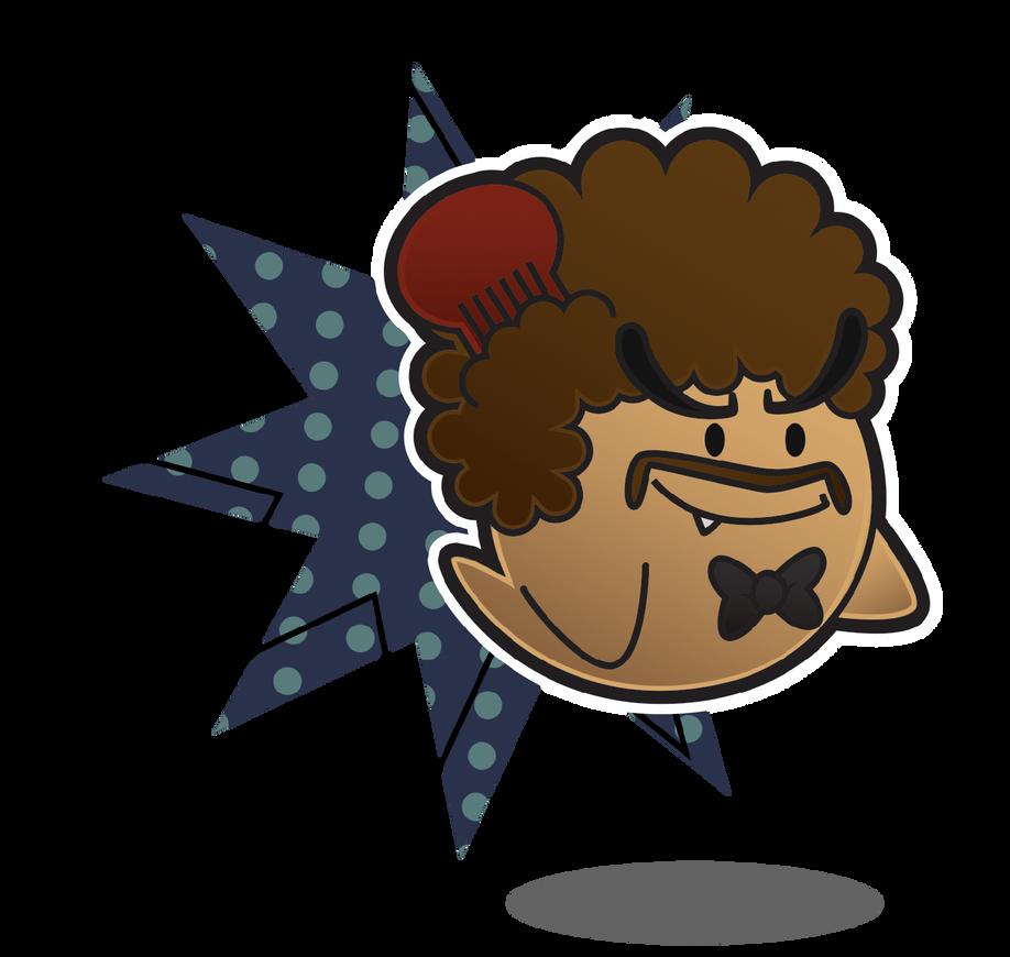 My Paper Mario Partner: Boozack by Sindorman