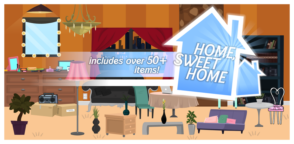 Zilowar 315 47 Home, Sweet Home [House Decor Pack] By BlueFriday8