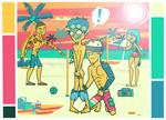 Dangan Academy: Ch. 2 | Beach Bum