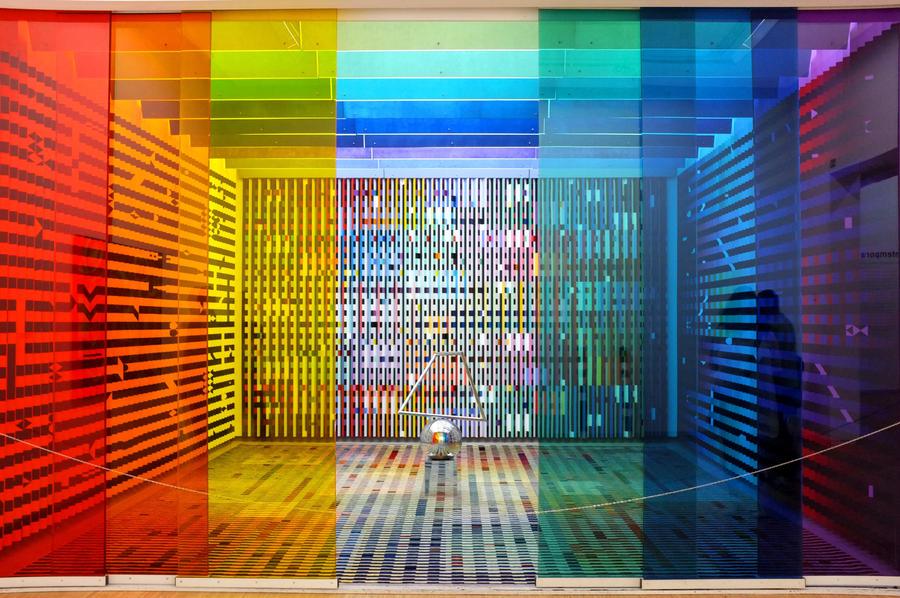 Pompidou - Art installation by rtraverso86