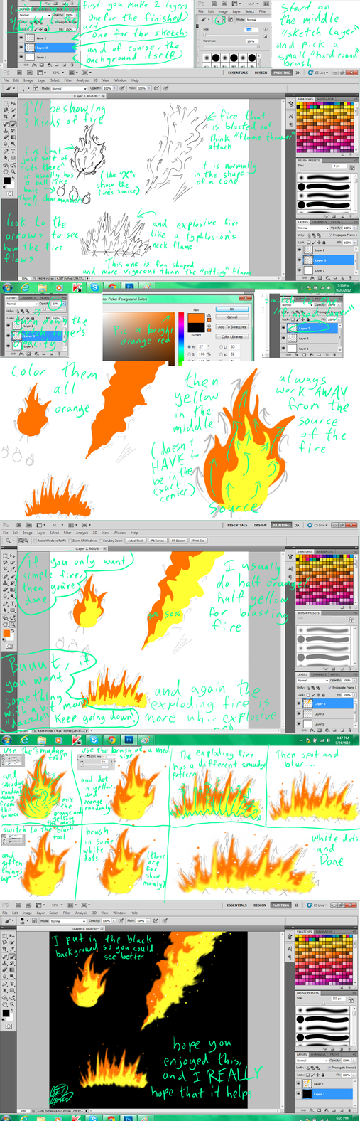fire tutorial by Tatta-doodles