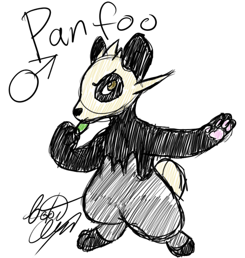 Panfoo Doodle by Tatta-doodles
