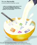 iPod Shuffle Breakfast Cereal