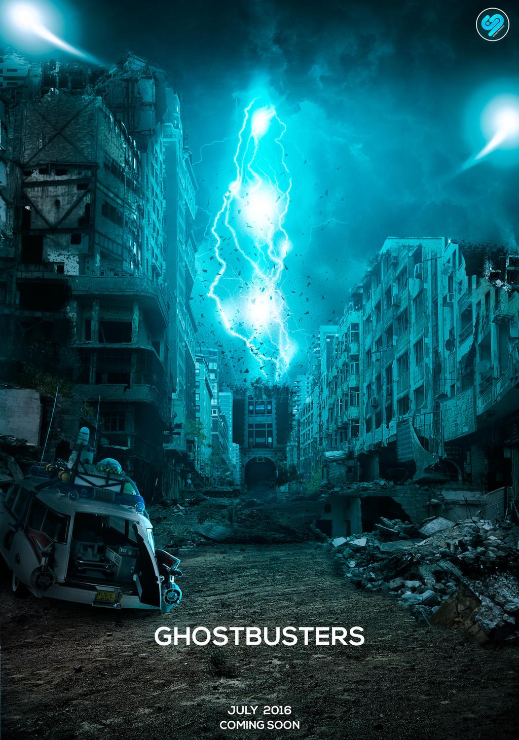 Ghostbusters Poster Design (Tribute) by eddieswan on DeviantArt