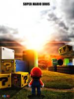 Super Mario Bros Poster by eddieswan