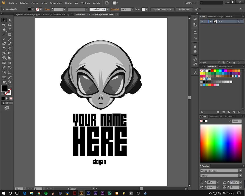 Free Logo Design Adobe Illustrator By Eddieswan On Deviantart