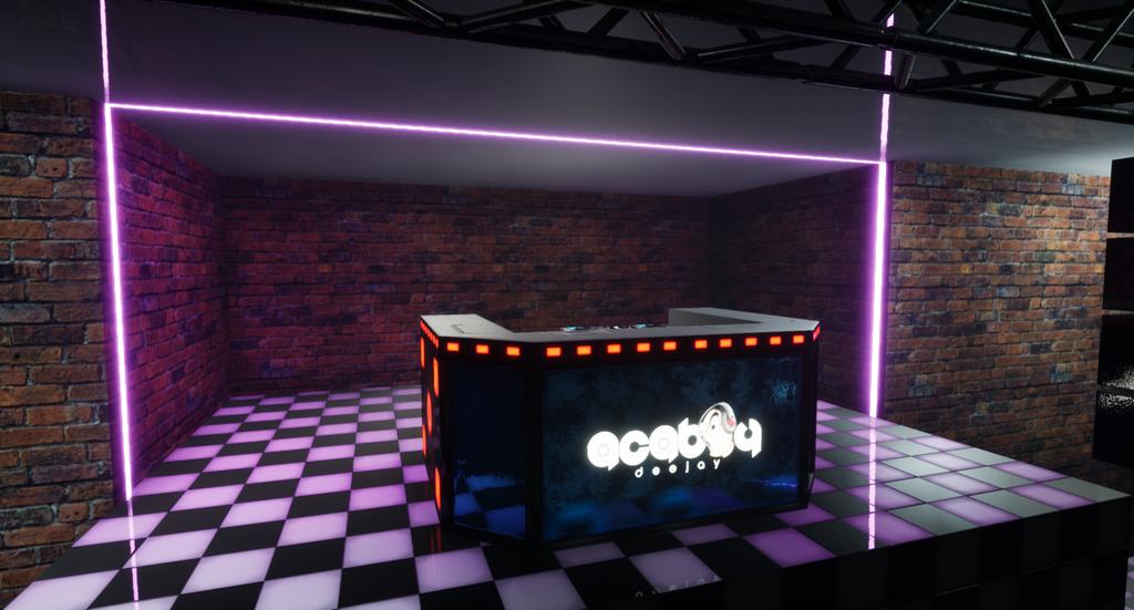 Unreal Engine - Night Club Project by eddieswan